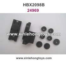 HBX 2098B Parts Front/Rear Pinion Gears+Motor Pinion Gear+Centre Gear Box Housing 24969