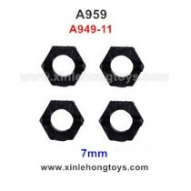 WLtoys A959 Parts Hexagon Wheel Seat A949-11