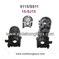 XinleHong Toys 9115 S911 Parts Rear Gear Box Shell 15-SJ15