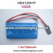 HBX 12881P Vortex Parts Battery 7.4V 1500mAh 12225