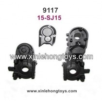 XinleHong Toys 9117 Parts Rear Gear Box Shell 15-SJ15