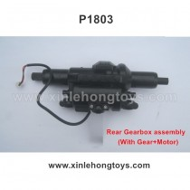 HB-P1803 Parts Rear Gearbox assembly (With Gear+Motor)
