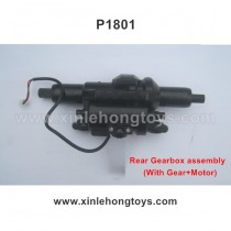HB-P1801 Parts Rear Gearbox assembly (With Gear+Motor)