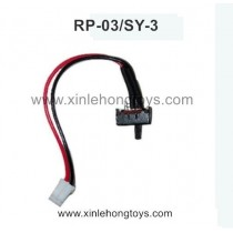 RuiPeng RP-03 SY-3 RC Truck Parts Switch wire RP-KGX1