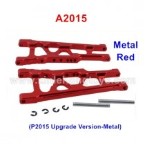 REMO HOBBY 1021 Upgrade Parts Metal Suspension Arms A2015 P2015 red