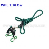 WPL B-24 Military Truck Parts Car Traction Rope-Green