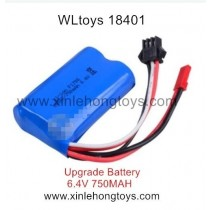 WLtoys 18401 Parts Upgrade Battery 6.4V 750mAh