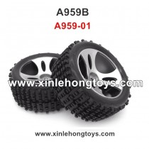 WLtoys A959b Parts Tire Wheel A959-01