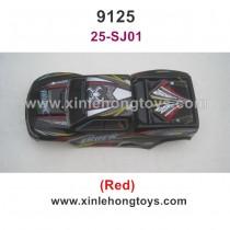 XinleHong Toys 9125 Parts Car Shell-Red 25-SJ01
