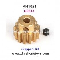REMO HOBBY 1021 Parts Motor Gear (Copper) 13T G2813