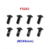 REMO HOBBY RC Screw M3*6MM F5203