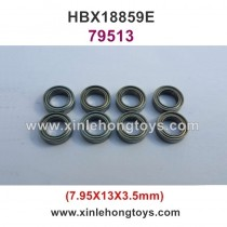 HaiBoXing HBX 18859E Parts Ball Bearing 79513 7.95x13x3.5mm