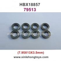 HaiBoXing HBX 18857 Parts Ball Bearing 79513 7.95x13x3.5mm