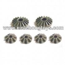 HBX T6 Parts Diff. Bevel Gears+Pinion Gears TS021