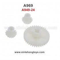 WLtoys A969 Parts Reduction Gear+Drive Gear A949-24