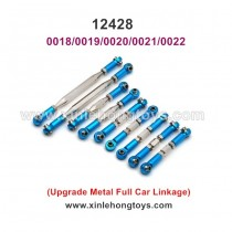 Wltoys 12428 Upgrade Metal Parts Full Car Steering Rod, Arm Lever 0018 0019 0020 0021 0022