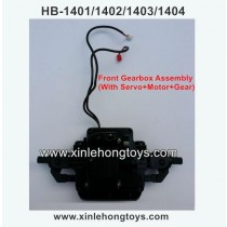 HB-P1404 Parts Front Gearbox Assembly (With Servo+Motor+Gear)