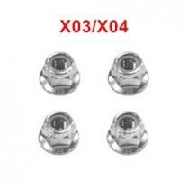 XLF X04 X03 RC Parts Flange Locknut XLF-1012