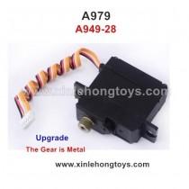 WLtoys A979 Servo Upgrade A949-28