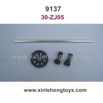 XinleHong Toys 9137 Parts Main Drive Shaft assembly, Transmission Gear 30-ZJ05