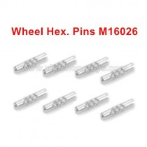 HBX 16889 Spare Parts Wheel Hex. Pins M16026