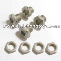 HBX T6 Parts Wheel Hex+Wheel Hex. Lock TS026