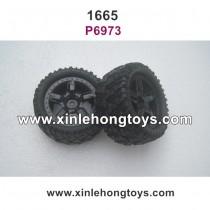 REMO HOBBY 1665 Sevor Parts Tire Wheel P6973