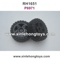 REMO HOBBY 1651 Parts Tire Wheel P6971
