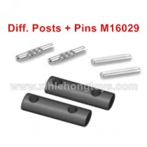 HBX 16889 Parts Diff. Posts+Pins M16029