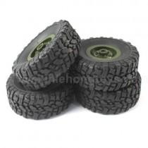 JJRC Q60 D826 Tire Wheel-Green