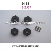 XinleHong Toys 9118 Parts 12mm Six Angel Connector 15-ZJ07