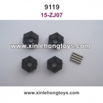 XinleHong Toys 9119 Parts 12mm Six Angel Connector 15-ZJ07
