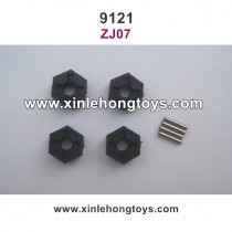 XinleHong Toys 9121 Parts 12mm Six Angel Connector ZJ07