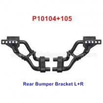 HG P402 Parts Rear Bumper Bracket L+R P10104+105