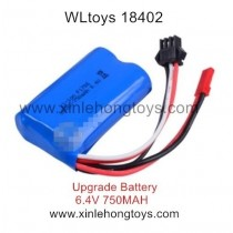 WLtoys 18402 Parts Upgrade Battery 6.4V 750mAh