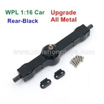 WPL B16 B1 Upgrade Metal Rear Differential Gear Assembly