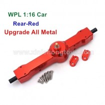 WPL B1 B-16 Upgrade Metal Rear axle assembly