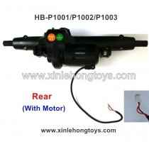 HB-P1002 Parts Rear Gearbox assembly (With Motor)