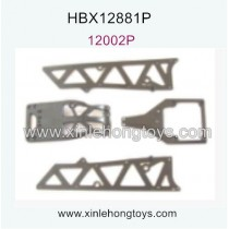 HaiBoXing HBX 12881P Parts Servo Cover+Motor Guard+Chassis Side Plates A 12002P