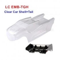 LC Racing EMB-TGH Truggy Parts Body Shell, Car Shell