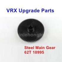 VRX Racing RH1043 1045 Upgrade 62T Steel Main Gear 10995