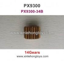 Pxtoys Sandy Land  9300 Parts Motor Gear (14 Gears) PX9300-34B