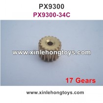 Pxtoys 9300 Parts Update Motor Gear (17 Gears) PX9300-34C