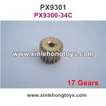 Pxtoys 9301 Parts Upgrade Motor Gear (17Gears) PX9300-34C