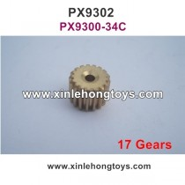 Pxtoys 9302 Parts Upgrade Motor Gear (17Gears) PX9300-34C
