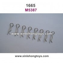 REMO HOBBY 1665 Parts Body Clips M5387