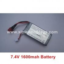 XLF X05 Battery 7.4V 1600mah