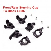 LC Racing 1/14 EMB Parts Steering Cup+C Block L6007