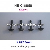HBX 18858 Parts Wheel Screws (2.6X12mm) 16071