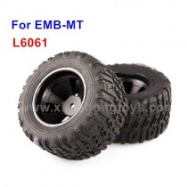 LC Racing EMB-MTH Parts Tire, Wheel L6146